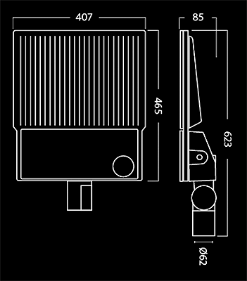 Akron dimensions